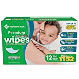 quilted baby wipes - Member's Mark Scented Baby Wipes, 1,000 ct. (10 packs of 100)