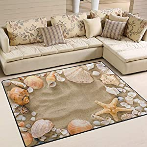 51y2bW-vTeL._SS300_ Starfish Area Rugs For Sale