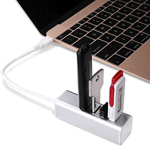 Câbles, Seenda IHUB-02C USB 3.1 Type-C à 4 ports Adaptateur USB 3.0 HUB pour MacBook 12 pouces, Chromebook Pixel 2015