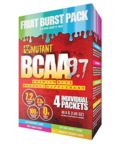 Mutant BCAA 9.7 (Fruit Burst, Variety Pack)