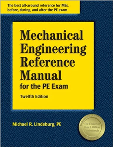 mechanical engineering reference manual for the pe exam 12th rh amazon com Charles Lindbergh Mistresses Lindbergh Baby