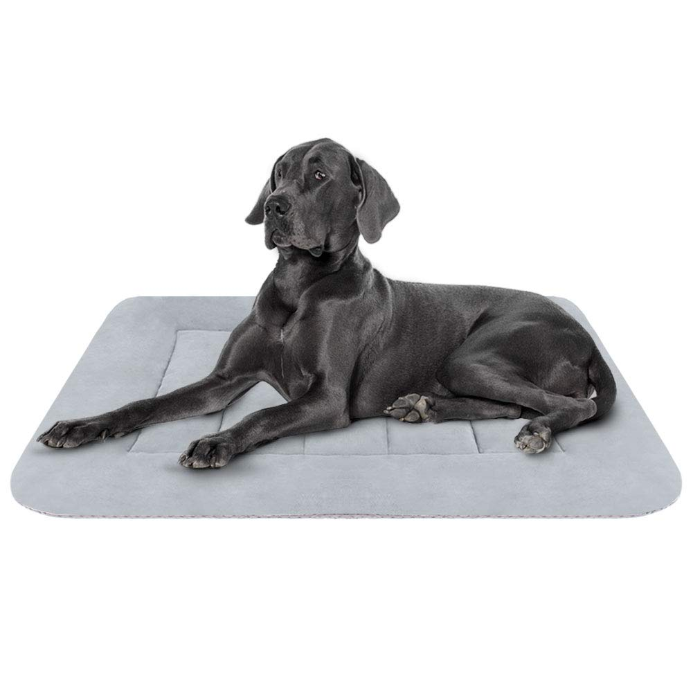 Hero Dog Large Dog Bed Crate Pad Mat Washable Matteress Anti Slip Cushion for Pets Sleeping