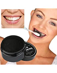Kshion Teeth Whitening Powder Natural Organic Activated Charcoal Bamboo Toothpaste