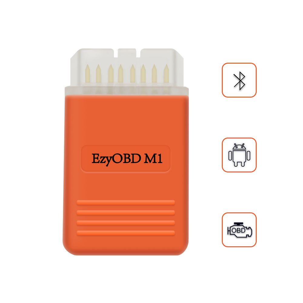 Obd2 Bluetooth Adapter OBD Scanner Auto Diagnose Scan Tool Android 4.0 Engine Fehlercode Leser VXDAS EzyOBD Powerful Than ELM327 Check TPMS/ Light/ Oil