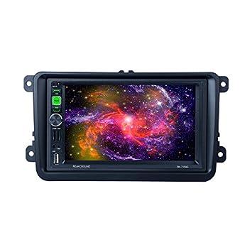 Jerome10Dan 100/MM//3.94/Inch/Frame/Universal/2/Din/Car/Radio/MP5/Installation/Accessories