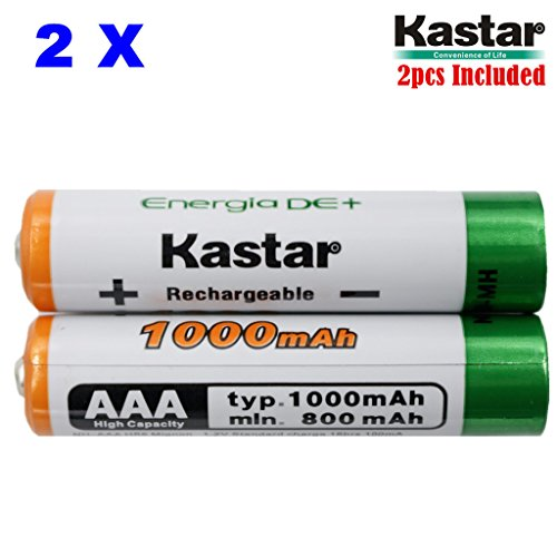 Kastar AAA  Ni-MH 1000mAh Super High-Capacity Rechargeable B