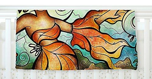 KESS InHouse Mandie Manzano Cubana Dancing Fleece Baby Blanket 40 x 30 [並行輸入品]   B077ZTW66N