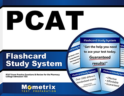 PCAT Flashcard Study System: PCAT Exam Practice Questions & Review for the Pharmacy College Admission Test (Cards)