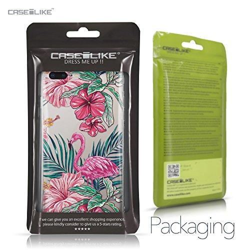 CASEiLIKE Funda iPhone 7 , Carcasa Apple iPhone 7, París vacaciones 3904, TPU Gel silicone protectora cover Flamenco tropical 2239