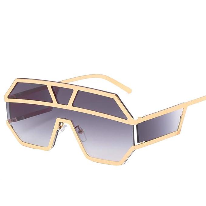 PFMY.DG Nuevas Gafas De Sol Cuadradas Grandes Moda Retro Sol ...