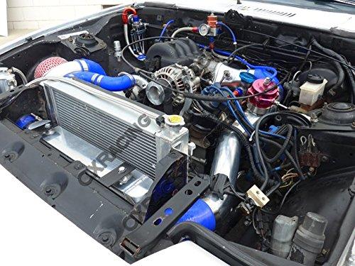Amazon.com: Intercooler Piping BOV Kit for Mazda Rx7 Sa Fb 13b Rx-7 Single Turbo Blk Hose: Automotive