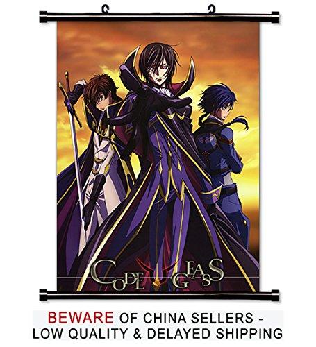Code Geass Akito the Exiled Anime Fabric Wall Scroll Poster (16x19) Inches (Code Geass Akito The Exiled Blu Ray)