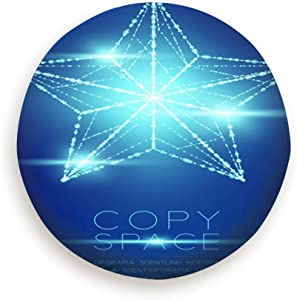 """smartgood Christmas Star Wireframe Polygon Bokeh Light Holidays Signs Symbols Spare Wheel Tire Cover Waterproof Dust-Proof Universal for Jeep,Trailer, RV, SUV and Many Vehicle 14"""" 15"""" 16"""" 17"""""""