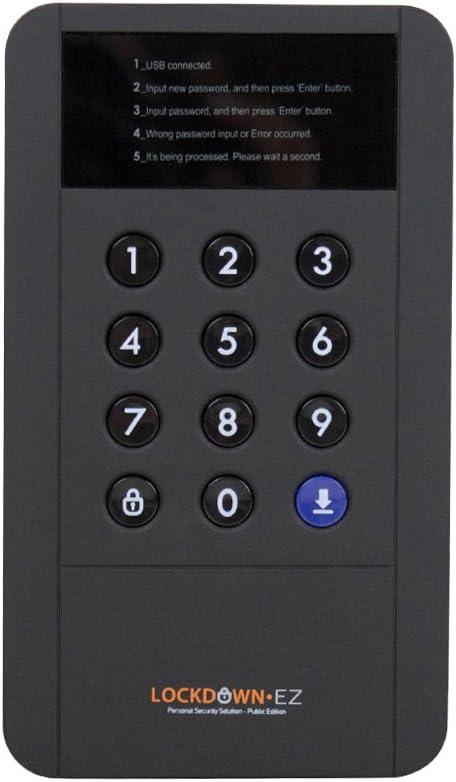 Satechi Lockdown Series USB 3.0 Cifrado Externo portátil 2.5 ...