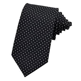 PenSee Corbata de seda, diseño de lunares, varios colores ...