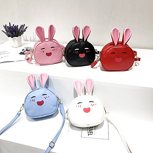 for Small Shape Red Vi Wallet Rabbit iPhone X Cartoon PU Backpack Red 8 21 with Plus Leather Travel Size Mini 12cm Cellphone 29 yo Backpack Purse Zqq4O75w