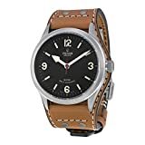 Tudor Heritage Ranger Automatic Black Dial Tobaco Brown Leather Mens...