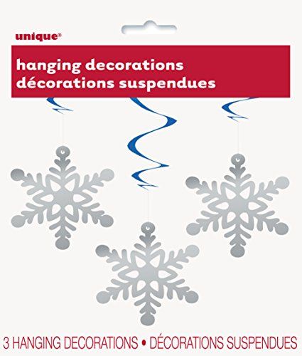 Hanging Snowflake Holiday Decorations