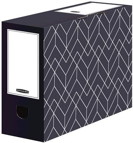 Bankers Box Decor Transfer File 100mm Capacity Urban Grey Pack 5