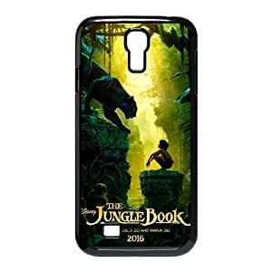 Custom for Samsung Galaxy S4 9500 Cell Phone Case Black The Jungle Book ThemeLD3430