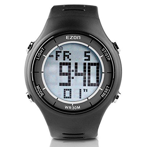 EZON Men's Digital Sport Watch Ultra-Thin Outdoor Running Watch L008 – DiZiSports Store
