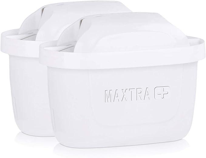Filtros de agua Brita Maxtra+ y cartuchos de filtro de agua, de color blanco (paquete de 2 unidades): Amazon.es: Hogar
