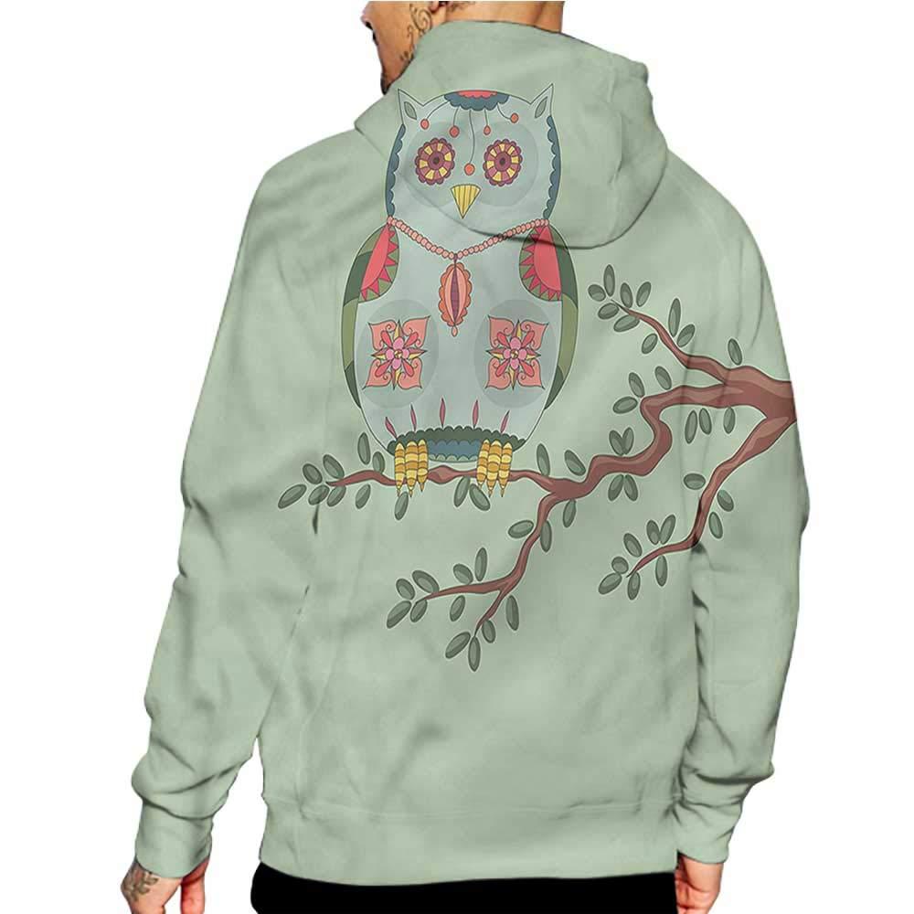 Hoodies Sweatshirt/Autumn Winter Cream,Bird Silhouettes on Wires,Sweatshirts for Women Hanes