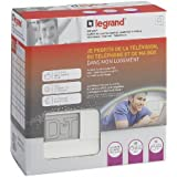 Legrand - LEG93046 - Coffret de Communication Essentiel 3 Médias DRIVIA