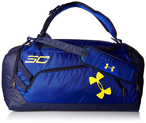 Under Armour SC30 Storm Contain Duffle, Royal (400)/Taxi, One Size (Under Armour Basketball Bag)