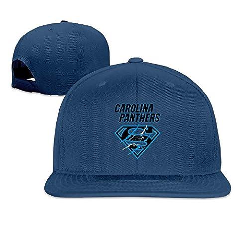 LINNA Custom Unisex-Adult Super Carolina Scratch Logo Adjustable Baseball Caps Navy (Attack In Titan Dvd)