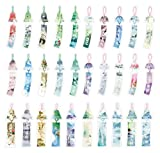Chinese Lucky Windbell Theme Colorful Bookmarks, 30PCS