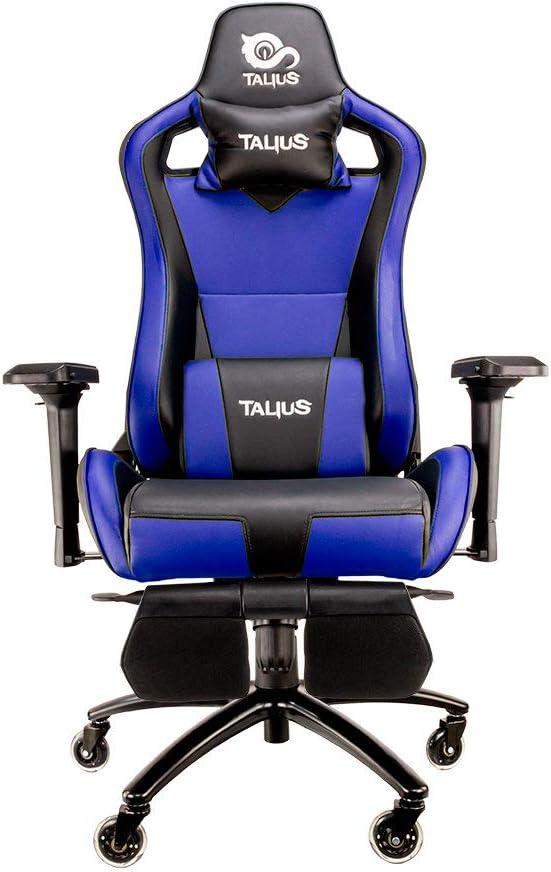 Talius Caiman Silla Gaming Profesional con reposapiés Extraible ...
