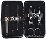 Fashioncraft Chevron Design Travel Manicure Set