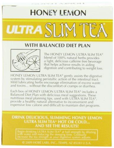 Ultra Slim Tea, Cran-Raspberry, Tea Bags, 24 Count Box 2
