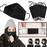 Gaddrt Masks Health Cycling Anti-Dust Cotton Mouth Face Mask Respirator Men Women 3 Layers