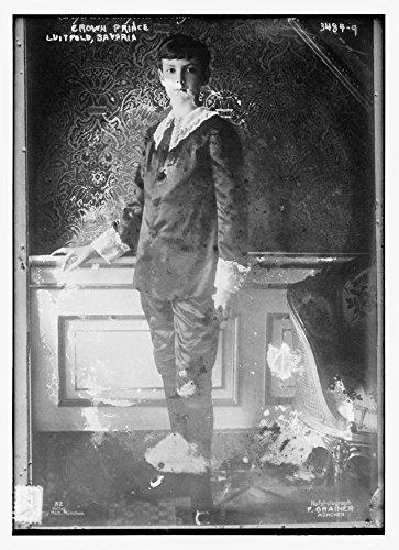 1914 Photo Crown Prince Luitpold, Bavaria Prince Luitpold of