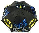 Marvel Batman Classic Black and Yellow Umbrella and Pixel Animation Style Sunglasses Set