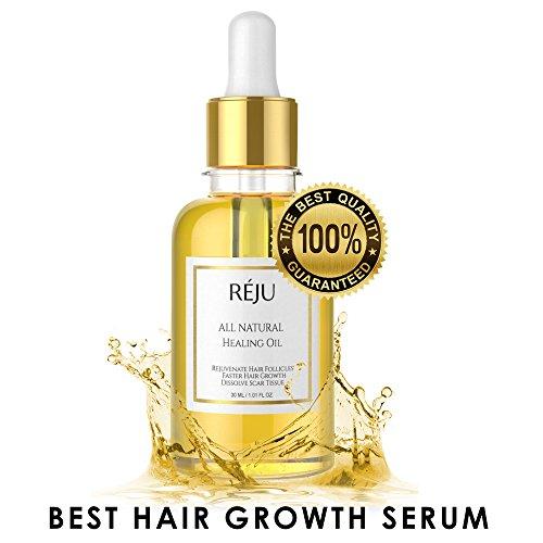 Natural Hair Growth Oil - Hair Growth Serum, Hair Loss Thinning Treatment Oil (1.01 FL Oz) (Best Hair Growth Product On The Market)