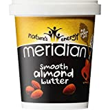 Meridian Foods - No Gm Soya Smooth Almond Butter 100% 454g