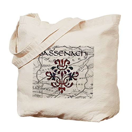 CafePress Sassenach Thistle Tote Bag