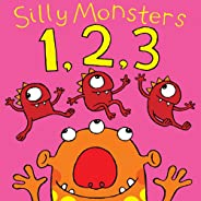 Silly Monsters 1,2,3. (Count one to twenty with silly monsters): A Silly Rhyming Picture Books for Kids