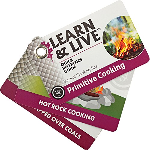 UST Learn & Live Educational Card Set, Primitive Cooking