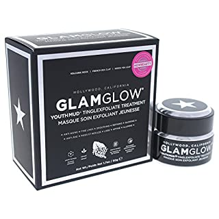 GlamGlow Facial Treatment Cream, Youth Mud Black, 1.7 Ounce