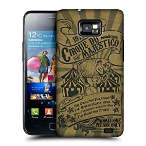 DIY Case Designs Cirque Du Majestico Tickets Protective Snap-on Hard Back Case Cover for Samsung Galaxy S2 II I9100 by ruishername