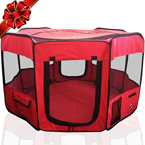 ToysOpoly Portable Playpen Puppy Kennel