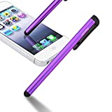 INSTEN Purple Touch Screen Stylus For kindle Fire HD 6 Fire HD 7 HDX 8.9 Voyage Fire HD 7 2nd GenFire HDX 7/ Fire HDX 8.9/ Apple iPhone 7/7 Plus/Samsung Galaxy S7/S8/S9/S9+ Plus