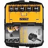 DEWALT D1800IR5 5-Piece IMPACT READY Hole Saw Set (3/4-Inch, 7/8-Inch, 2x-1-1/8-Inch, 1-3/8-Inch)
