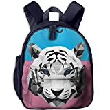 Smart Design: Total 3 Pockets: One Roomy Main Compartment, One Front Pocket, One Side Pocket;Comfortable,adjustable And Padded Straps Go Easier On Kids' Shoulders;4,cute Fashion Design, It Will Catch Kids' EyesDo Not Afraid Rain Again. Very S...