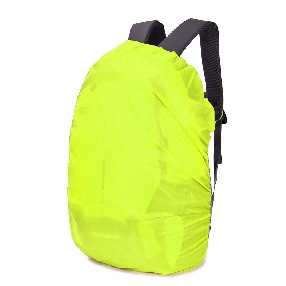 Waterproof Backpack Rain Cover Dust Proof Rucksack Bag Raincover for Outdoor Camping Hiking Cycling Traveling (Black)