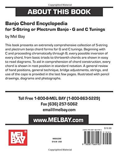 Amazon Mel Bay Presents Banjo Chord Encyclopediar Five